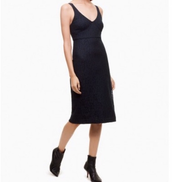 ARITZIA BABATON MARSDEN LACE OVERLAY DRESS